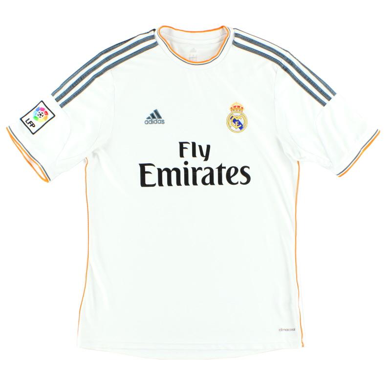 2013-14 Real Madrid Home Shirt L - Z29356