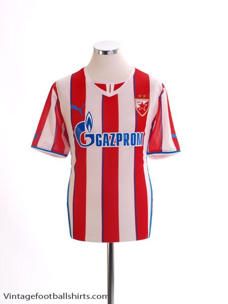 2013-14 Red Star Belgrade Home Shirt *Mint* L