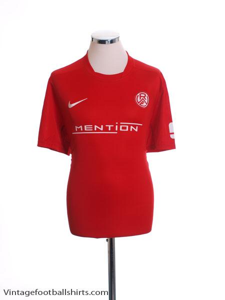 2013-14 Rot-Weiss Essen Home Shirt L