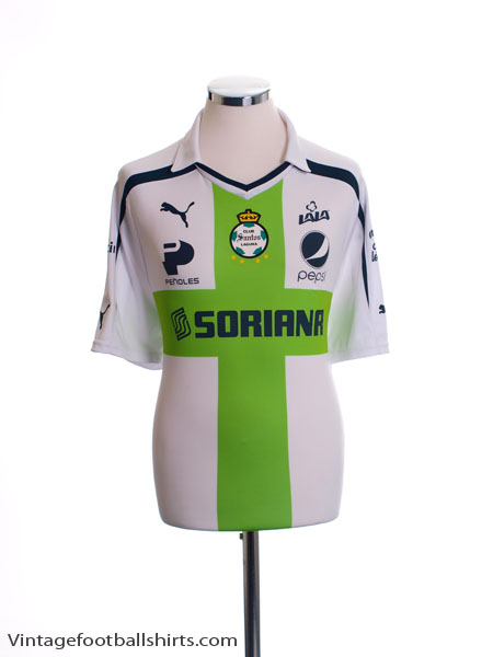 2013-14 Santos Laguna Away Shirt XL