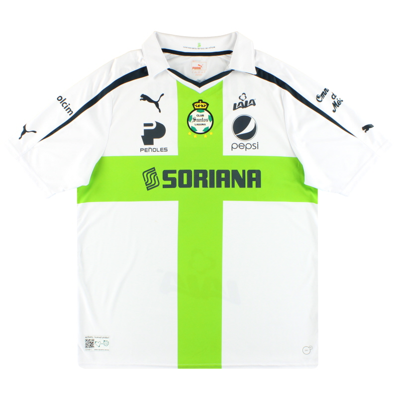 2013-14 Santos Laguna Puma '30 Years' Away Shirt XL - 745070
