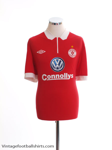 2013-14 Sligo Rovers Home Shirt XL
