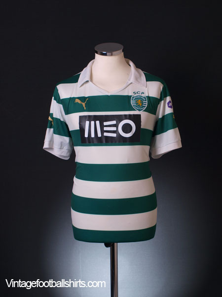 2013-14 Sporting Lisbon Home Shirt L