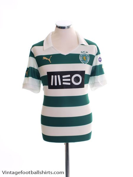 2013-14 Sporting Lisbon Home Shirt *BNIB*