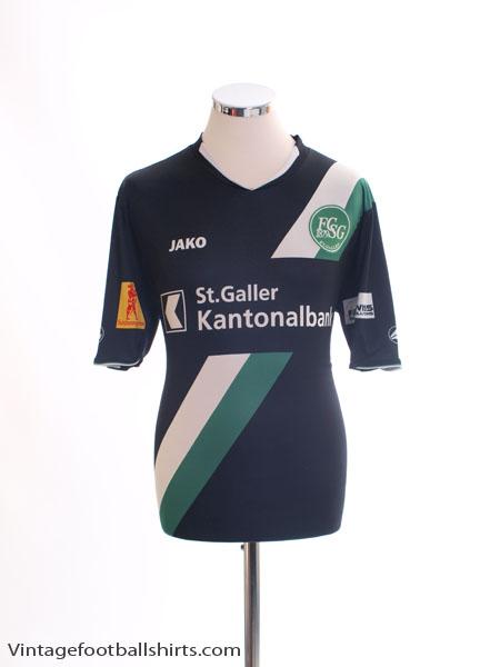 2013-14 St Gallen Away Shirt M