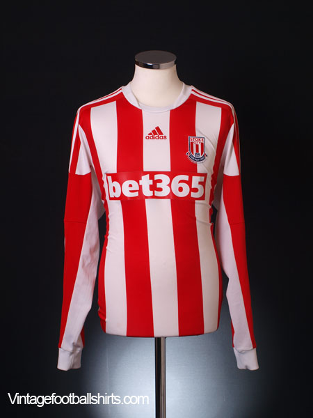 2013-14 Stoke City Home Shirt *Mint* L/S L
