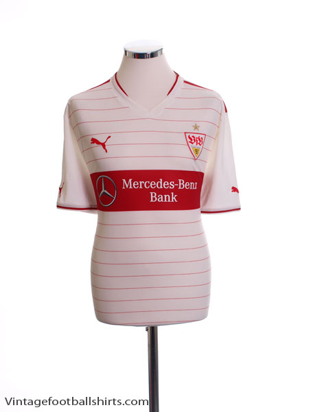 2013-14 Stuttgart Home Shirt XXL