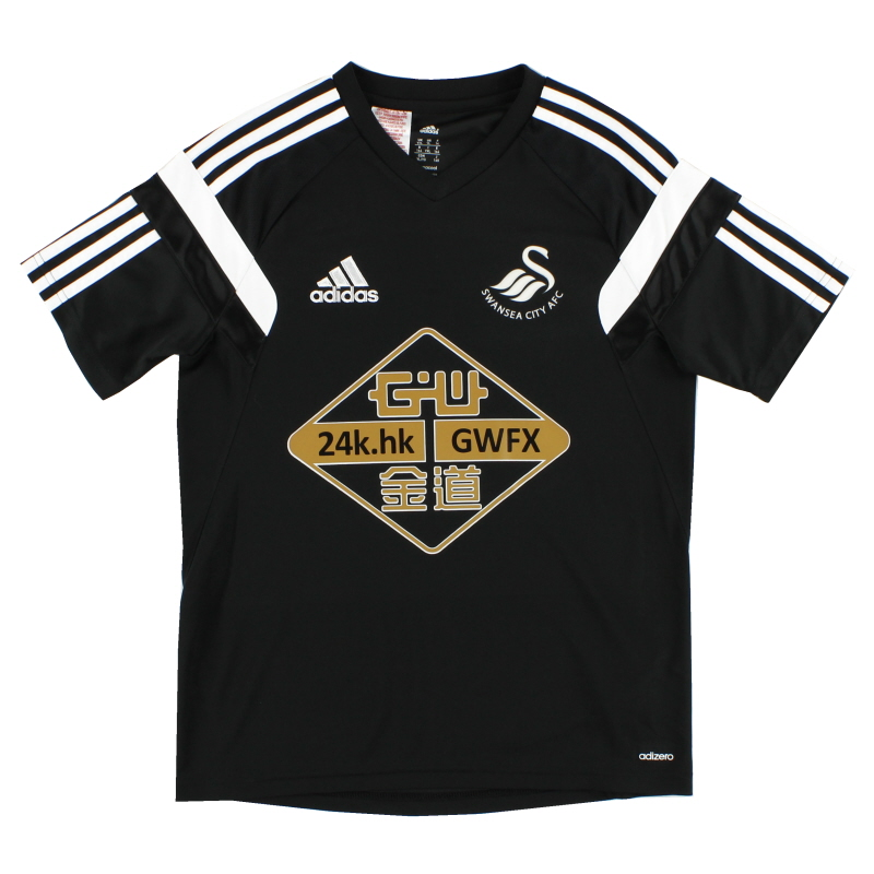 2014-15 Swansea City adidas adizero Training Shirt *Mint* XL.Boys - F76985