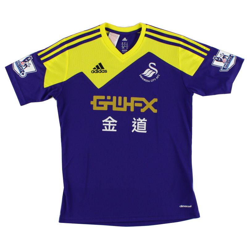 2013-14 Swansea City Away Shirt XL.Boys