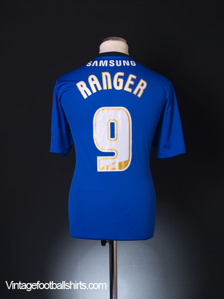 2013-14 Swindon Town Away Shirt Ranger #9 L