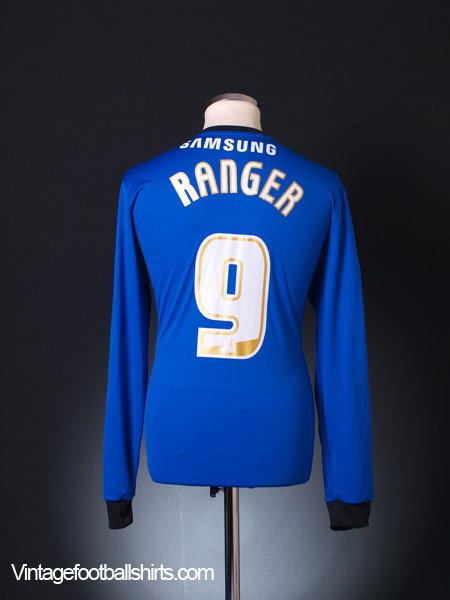 2013-14 Swindon Town Away Shirt Ranger #9 L/S L