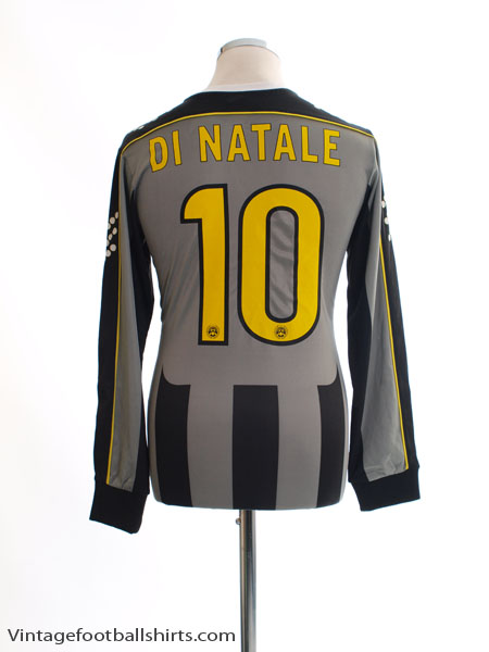 2013-14 Udinese Away Shirt Di Natale #10 L/S S