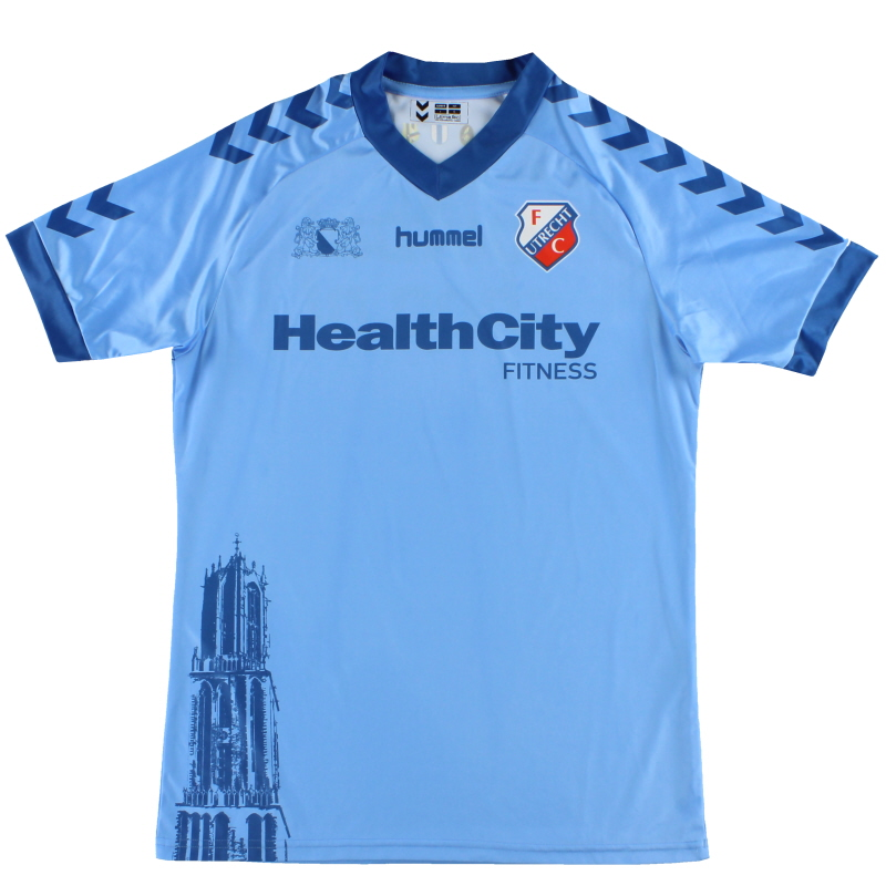2013-14 Utrecht Hummel Away Shirt L - 694537-5210