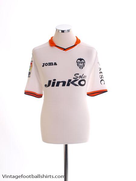 2013-14 Valencia Home Shirt M