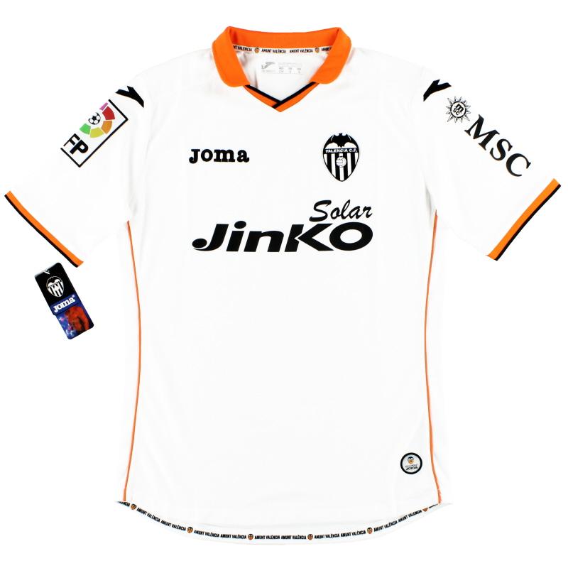 2013-14 Valencia Joma Home Shirt w/tags* S - 101011.13