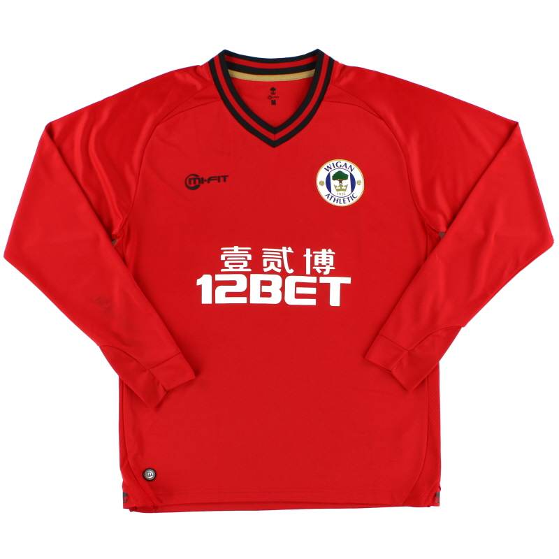2013-14 Wigan Goalkeeper Shirt M