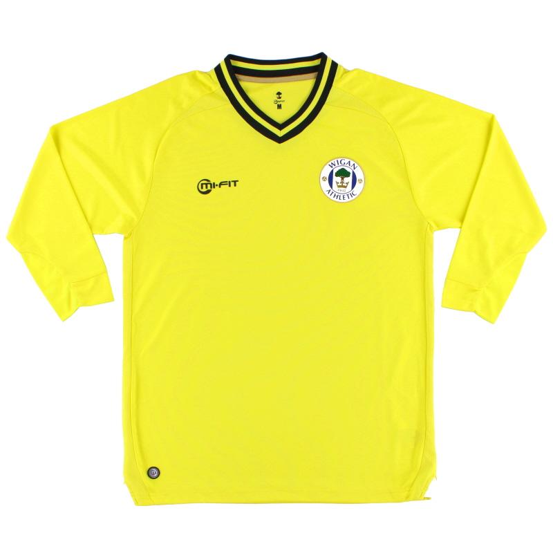 2013-14 Wigan Mi-Fit Goalkeeper Shirt M