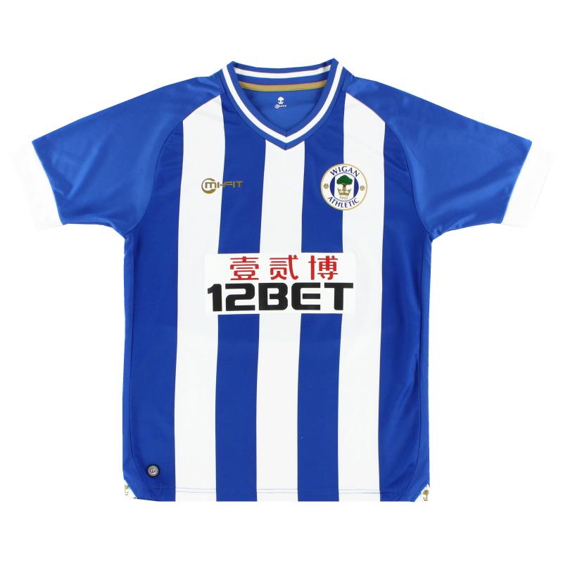 2013-14 Wigan Home Shirt M