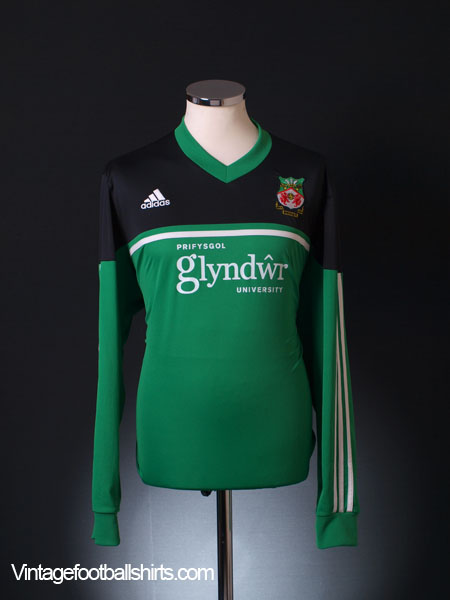 2013-14 Wrexham Away Shirt L/S XL