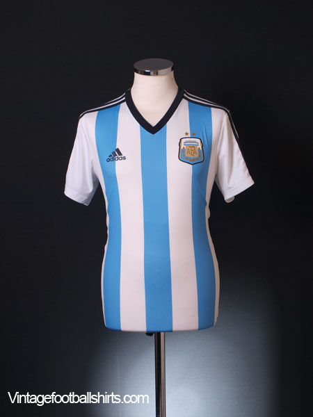 2013-15 Argentina Home Replica Tee *Mint* S