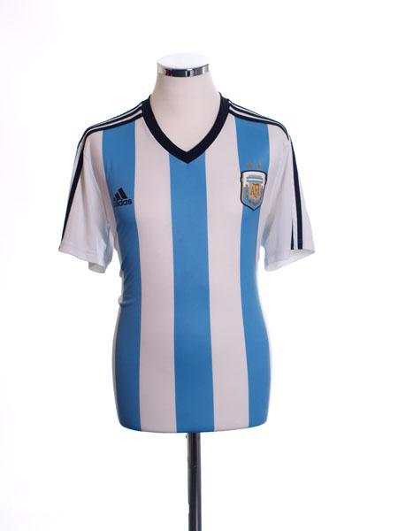 2013-15 Argentina Home Replica Tee M