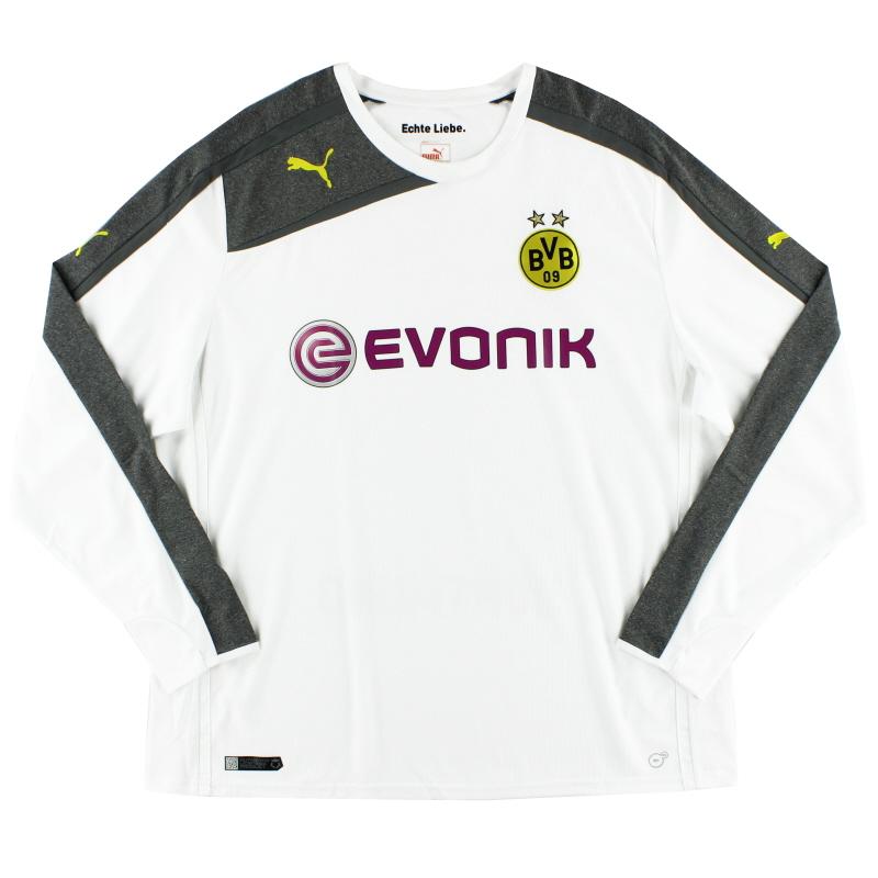 2013-15 Borussia Dortmund Third Shirt L/S XXXL