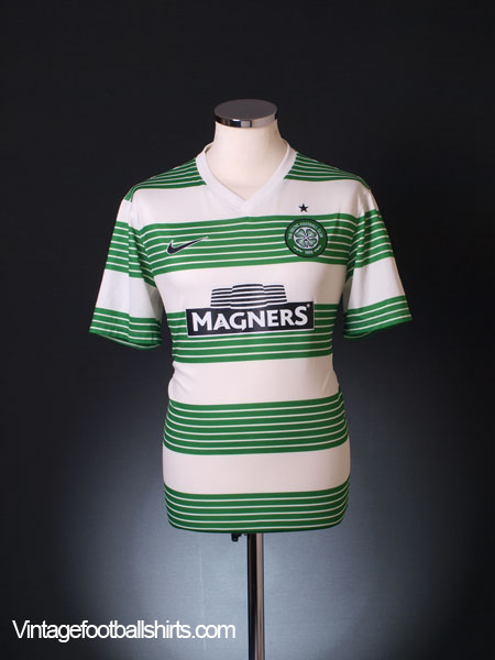 2013-15 Celtic Home Shirt M