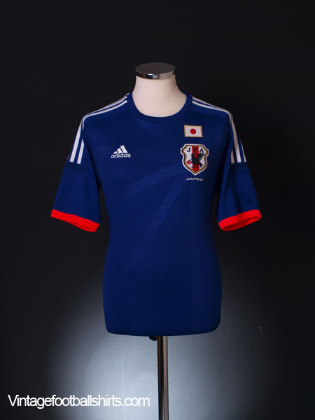 2013-15 Japan Home Shirt M