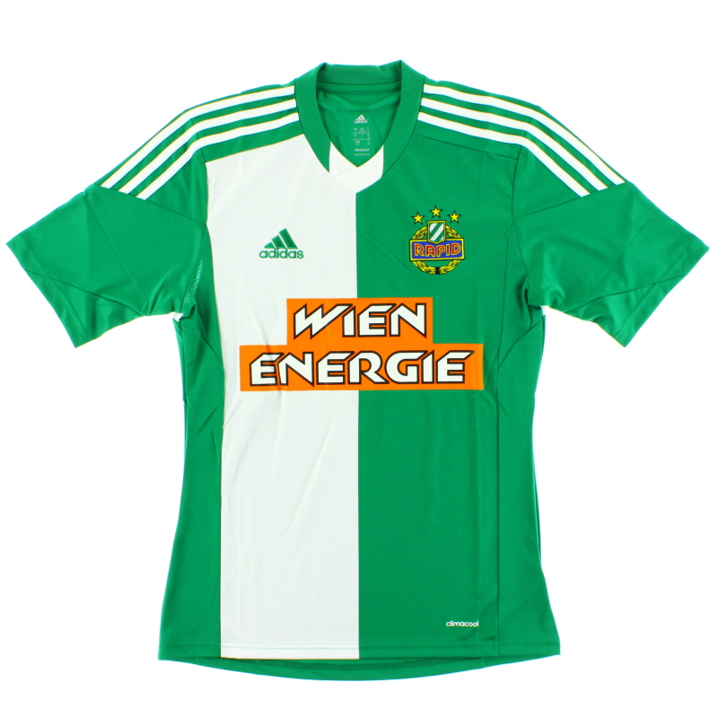 2013-15 Rapid Vienna Home Shirt *BNIB* - G68957
