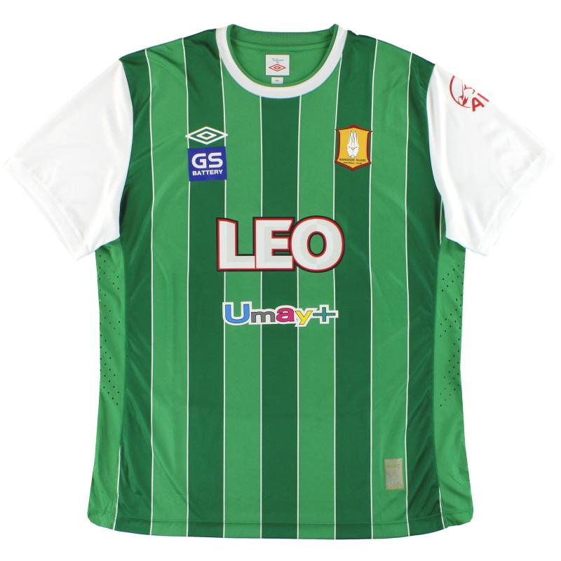 2013 Bangkok Glass Umbro Player Issue Home Shirt *Mint* XXL
