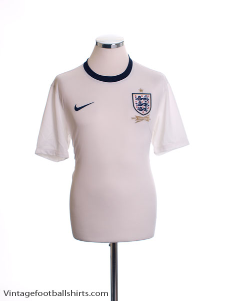 2013 England '150th Anniversary' Home Shirt M - 580957-105