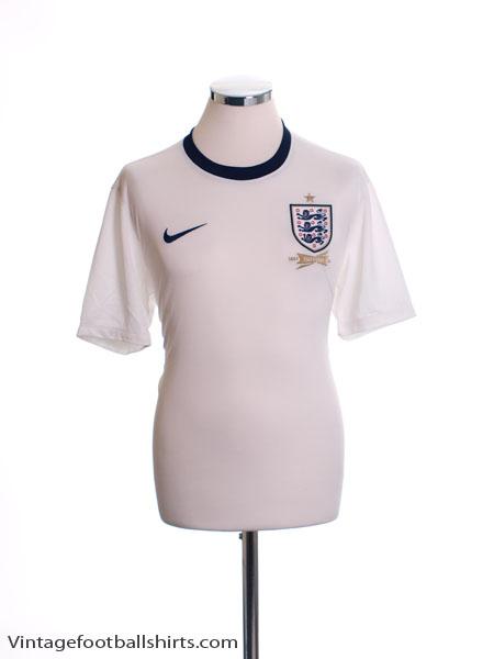 2013 England '150th Anniversary' Home Shirt *Mint* M