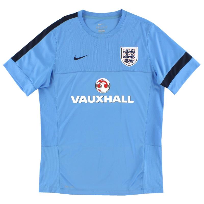 2013 England Nike Training Shirt L - 585223-413