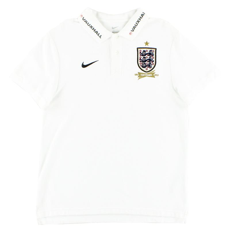 2013 England Polo Shirt L
