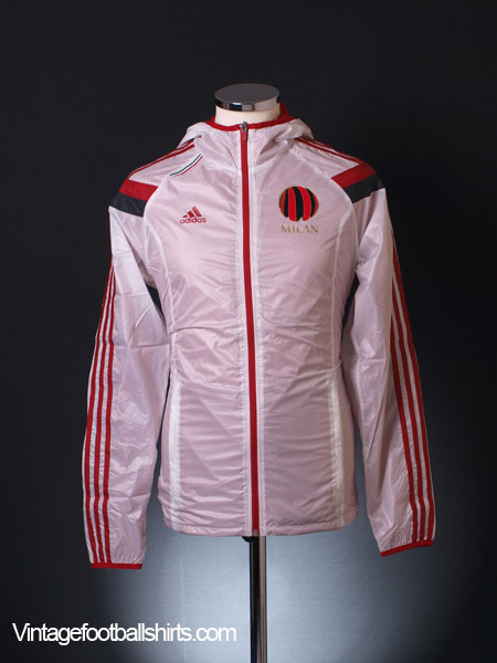 2014-15 AC Milan adidas Anthem Walk-Out Away Jacket *BNIB*