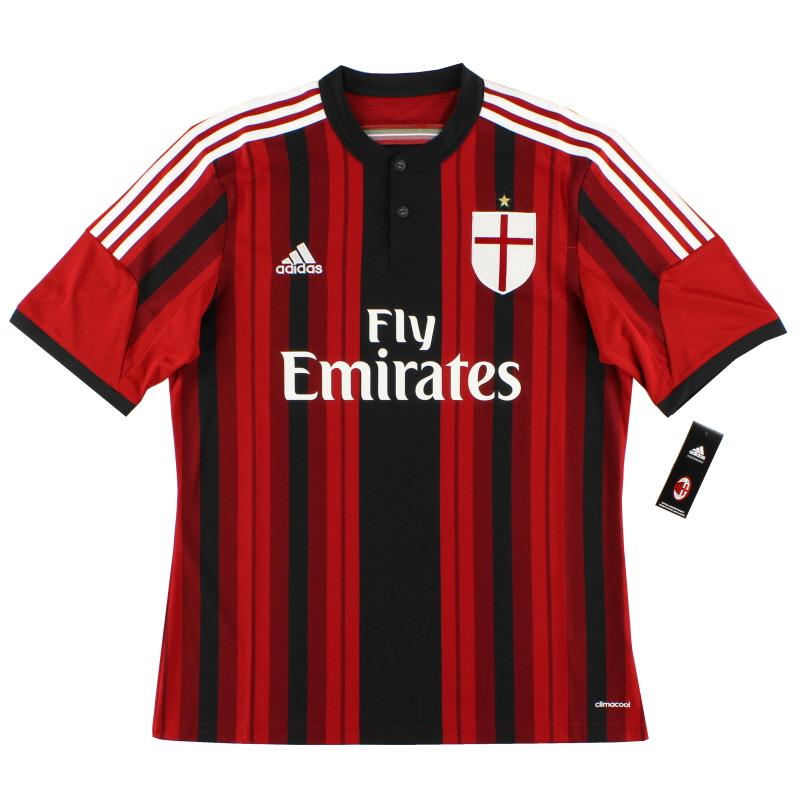 2014-15 AC Milan Home Shirt *BNIB*  - D87224