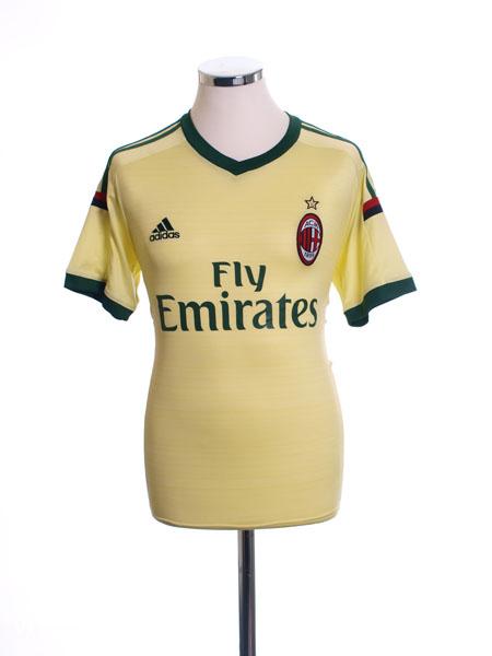 2014-15 AC Milan Third Shirt S