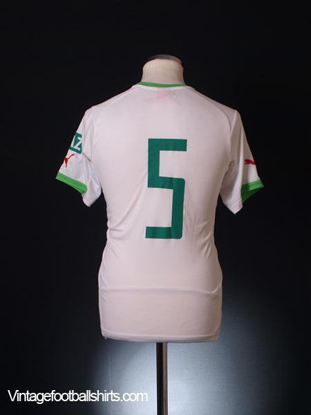 2014-15 Algeria Home Shirt #5 S