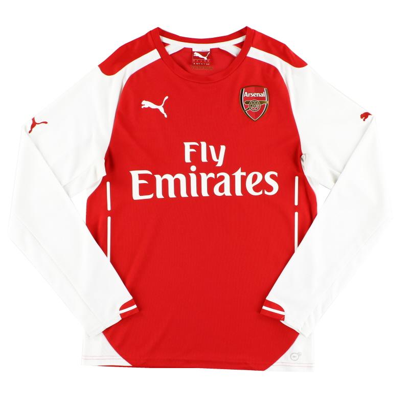 2014-15 Arsenal Home Shirt L/S XL.Boys - 746463