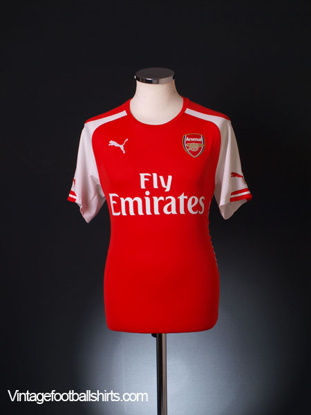 2014-15 Arsenal Home Shirt M