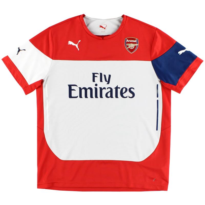 2014-15 Arsenal Training Shirt XXL