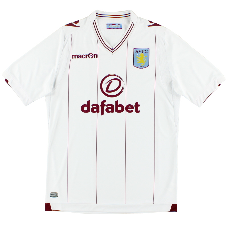 2014-15 Aston Villa Away Shirt M