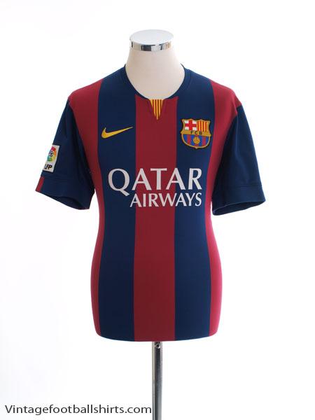2014-15 Barcelona Home Shirt S - 610594-422
