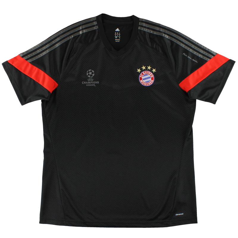 2014-15 Bayern Munich adidas Champions League Training Shirt *Mint* XL - F49550