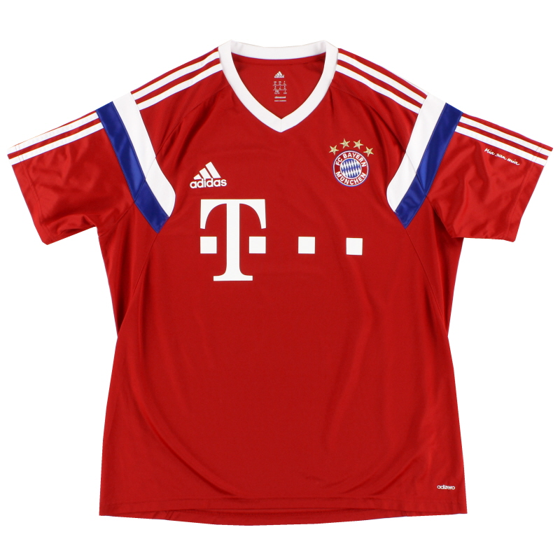 2014-15 Bayern Munich adizero Training Shirt XL - F49539