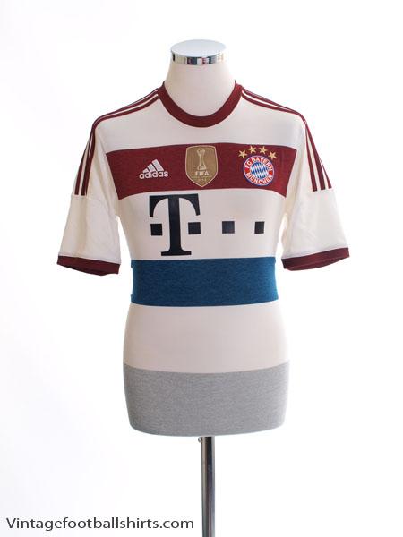 2014-15 Bayern Munich Away Shirt *Mint* M - AH4790