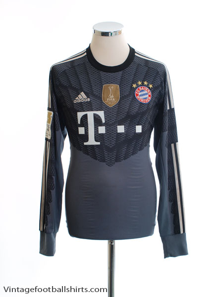 separation shoes f82b6 7e790 2014-15 Bayern Munich Goalkeeper Shirt Neuer #1 M for sale