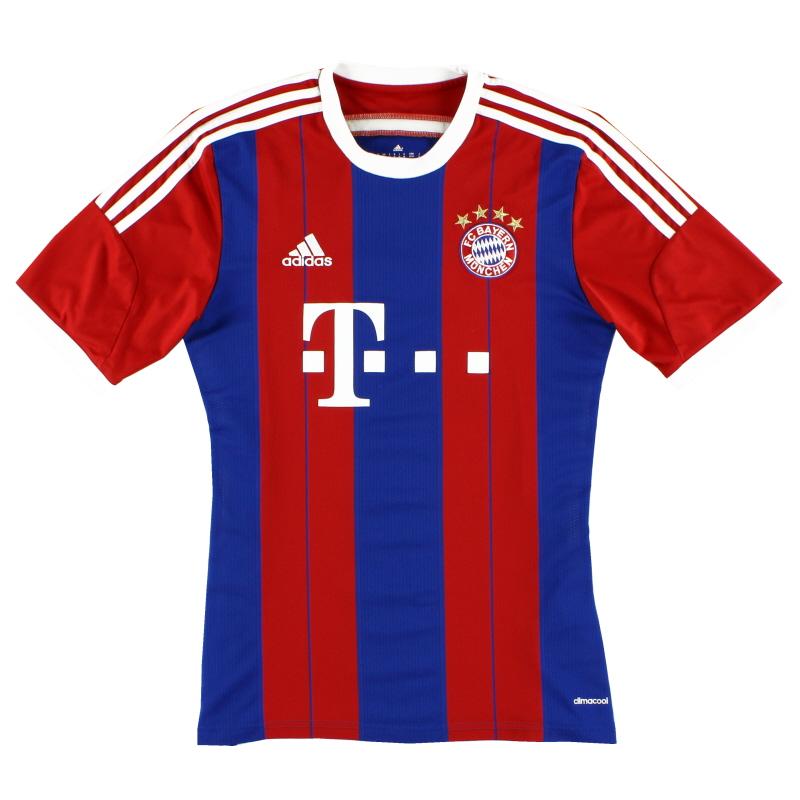 2014-15 Bayern Munich Home Shirt *Mint* L - F48499
