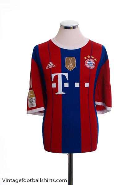 2014-15 Bayern Munich Home Shirt M