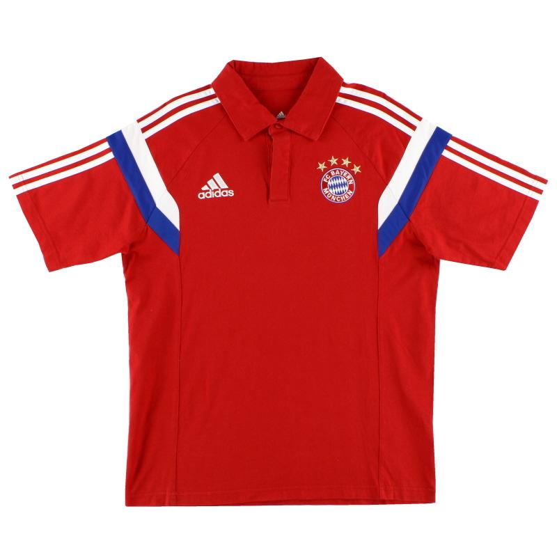 2014-15 Bayern Munich Polo Shirt M - F49527